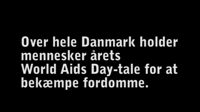 Word Aids Day-talen 2011